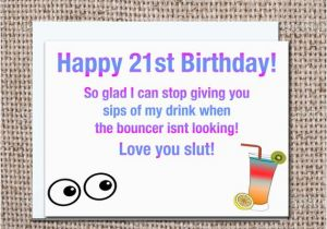 Funny 21 Year Old Birthday Cards Card 21st By Pixelpreppers