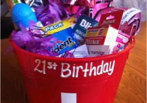 Funny 21st Birthday Gifts for Her Gift Basket My Daughter Made This for My Daughter Her