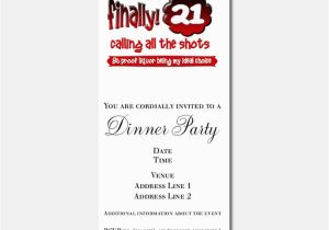 Funny 21st Birthday Invitation Wording Invitations For