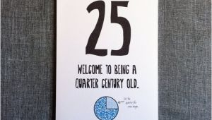 Funny 25th Birthday Cards Funny 25th Birthday Card 25th Birthday Card by