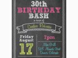 Funny 30th Birthday Invites Fun Sketch Typography 30th Birthday Invitations Paperstyle
