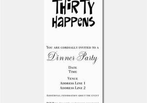 Funny 30th Birthday Invites Invitations For