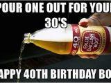 Funny 40 Birthday Memes Happy 40th Birthday Memes Wishesgreeting