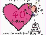 Funny 40th Birthday Cards for Women Happy 40th Birthday Quotes Images and Memes