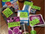 Funny 40th Birthday Gifts for Him 40th Birthday Gift Basket Ideas the Receiver thought