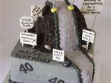 Funny 50th Birthday Cake Ideas for Him Quot Over the Hill Quot 40th Birthday Cake Rose Bakes Pins