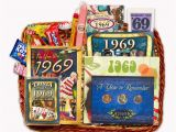 Funny 50th Birthday Gifts for Him 50th Anniversary Gift Basket for 1969