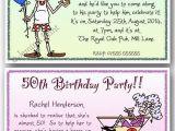 Funny 50th Birthday Invitation Wording Ideas 40th 50th 60th 70th 80th 90th Personalised Birthday Party