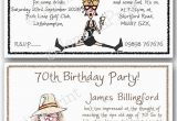 Funny 60th Birthday Party Invitations 30th 40th 50th 60th 70th 80th 90th 100th Funny Birthday