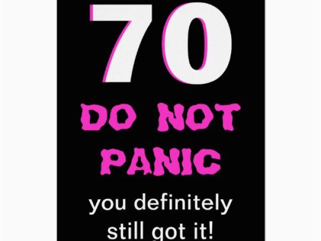 Funny 70th Birthday Cards Female Funny 70th Birthday Card For Women