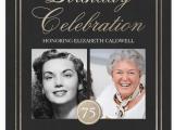 Funny 75th Birthday Invitations 75th Birthday Invitations 50 Gorgeous 75th Party Invites