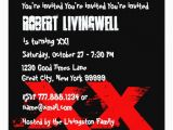 Funny 75th Birthday Invitations Funny 75 Year Old 75th Birthday Template A01h Invitation