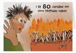 Funny 80th Birthday Cards Card Zazzle