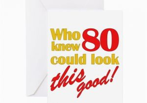 Funny 80th Birthday Cards Gag Gifts Greeting Card By Thebirthdayhill