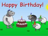 Funny Anime Birthday Cards Happy Birthday Funny Animated Sheep Cartoon Happy