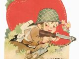 Funny Army Birthday Cards 71 Best Military Valentines Images On Pinterest Vintage