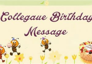 Funny Birthday Card Messages For Work Colleagues Best Colleague Wishes