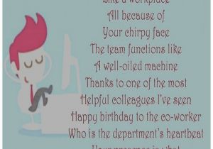 Funny Birthday Card Messages For Work Colleagues Office Best Happy Wishes