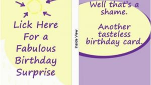 Funny Birthday Card Saying Crude Birthday Quotes Quotesgram