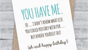 Funny Birthday Card Sayings for Boyfriend Birthday Card Funny Boyfriend Card Funny Girlfriend
