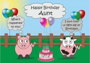 Funny Birthday Cards Cousin Quot Animals Aunt Hilarious Rudy Pig Moody
