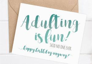 Funny Birthday Cards For Brother From Sister Card