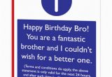 Funny Birthday Cards for Brothers Brother T Cs Birthday Card Brainboxcandy Com
