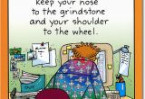 Funny Birthday Cards for Coworkers Coworker at Computer Funny Co Worker Birthday Card by