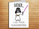 Funny Birthday Cards for Dad From Daughter Star Wars Christmas Card Birthday Card for Dad Gift From