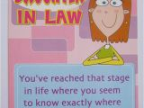 Funny Birthday Cards for Daughter In Law Fantastic Funny One Boutique to Another Daughter In Law