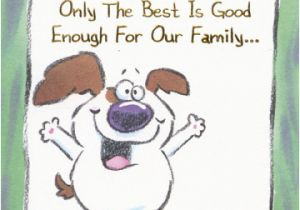 Funny Birthday Cards For Grandpa White Dog With Big Smile Grandfather Designer Greetings
