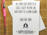 Funny Birthday Cards for Moms Funny Happy Birthday Mom Card Mother Happy Birthday Happy