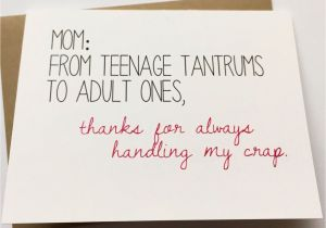 Funny Birthday Cards For Moms Mom Card