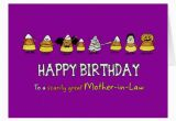 Funny Birthday Cards for Mother In Law Humorous Halloween Birthday for Mother In Law Card