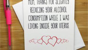 Funny Birthday Cards for Mum Mother Birthday Card Bday Card Mum Funny Birthday Card