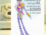 Funny Birthday Cards for Old Ladies Iris Apfel Funny Woman Humor Card Iris Apfel Card