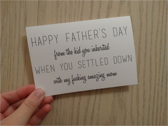 Funny Birthday Cards for Stepdad Step Dad Quotes From ...