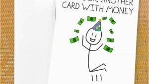 Funny Birthday Cards for Teens Funny Birthday Card for Teen Funny Money Card Oh Look