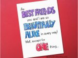 Funny Birthday Cards for Your Best Friend Items Similar to Best Friends Funny Birthday Card