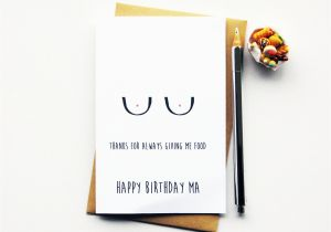 Funny Birthday Cards For Your Mom Belated Card