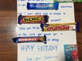 Funny Birthday Gifts for Him Australia Candy Card Food Candy Birthday Cards Candy Cards
