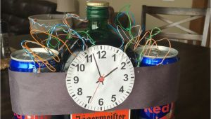Funny Birthday Gifts for Him Boyfriends 21st Birthday Idea Jager Bombs Creative