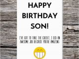 Funny Birthday Meme for son son Birthday Card Funny son Birthday Card Funny Happy