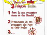 Funny Christian Birthday Cards Three Religious Truths Funny Birthday Card