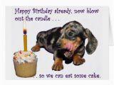 Funny Dachshund Birthday Cards Dachshund Birthday Greeting Card Zazzle