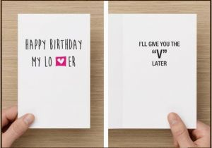 Funny Dirty Birthday Cards For Him Naughty Birthday Card Funny Card