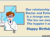Funny Doctor Birthday Cards Birthday Quotes for A Doctor Quotesgram