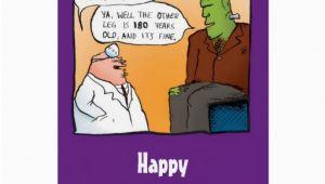 Funny Doctor Birthday Cards Funny Frankensteins Doctor Birthday Card Zazzle