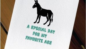 Funny Donkey Birthday Cards Donkey Funny Birthday Card