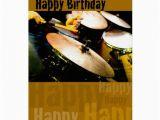 Funny Drummer Birthday Cards Drummer Happy Birthday Greeting Card Zazzle